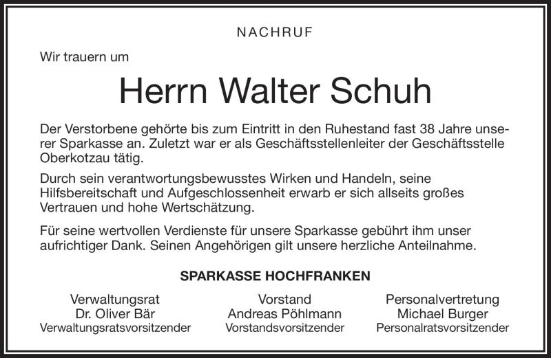 huge selection of 0ccf0 fd88a Gedenkseite von Walter Schuh | franken-gedenkt.de